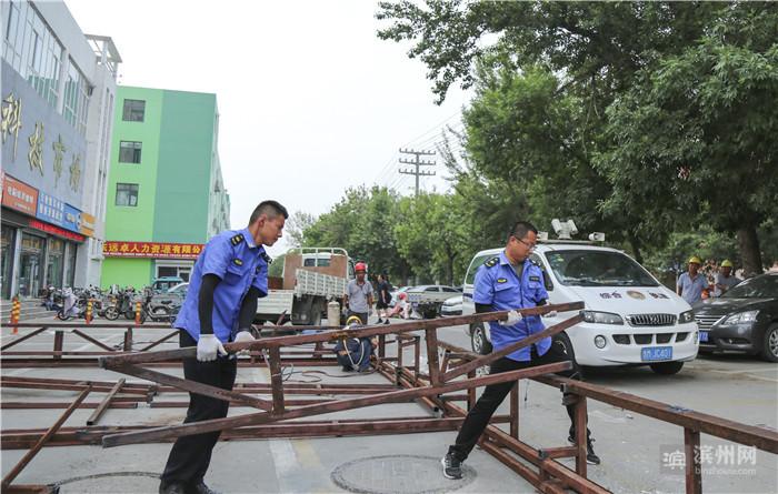 """滨城区综合行政执法局把创城""""高标准""""变为日常工作""""新常态"""""""