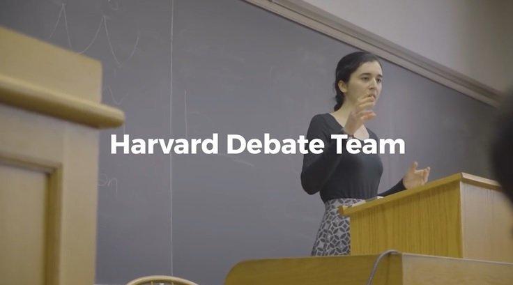 美音听力:哈佛辩论队