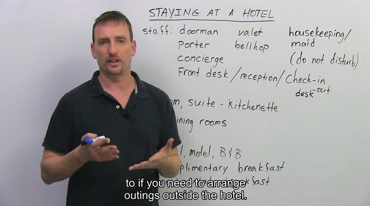 出国酒店住宿的词汇和句式