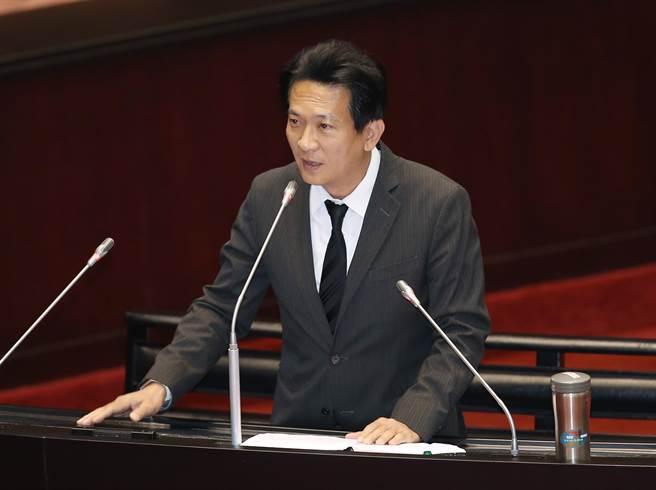 """民进党""""立委""""林俊宪(图片来源:""""中时电子报"""")"""