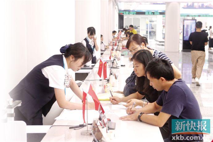 增城区政务服务中心新址启用 政务提速企业开办仅需2小时