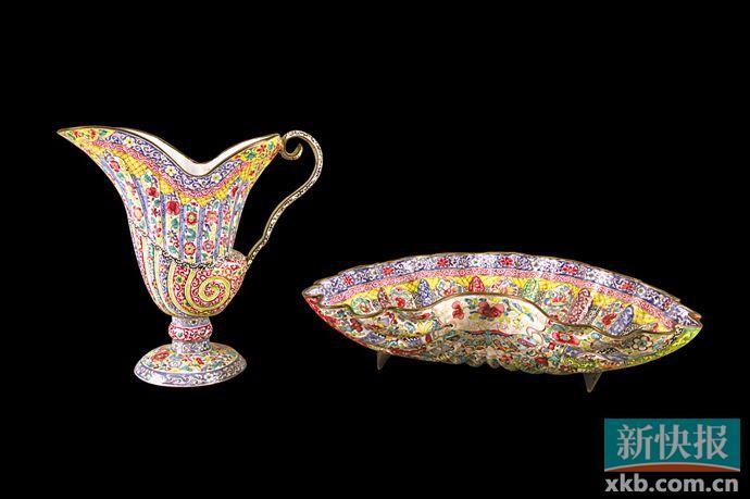 康熙念了三十年的西洋画珐琅 广东工匠把它们做出来了