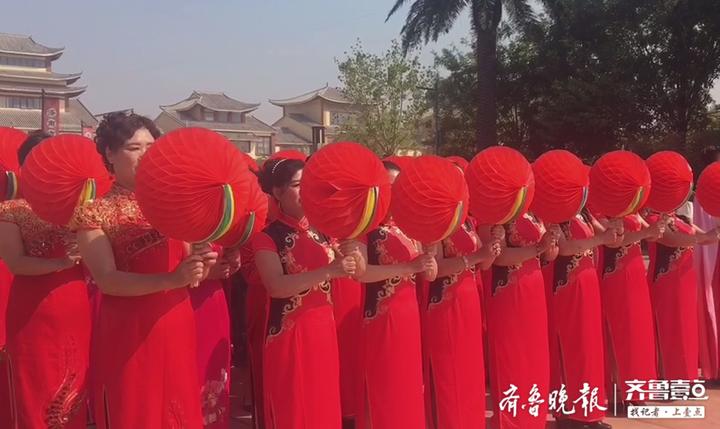 """漱玉平民""""万通杯""""千人广场舞大赛正式启动,庆祝新中国70华诞"""