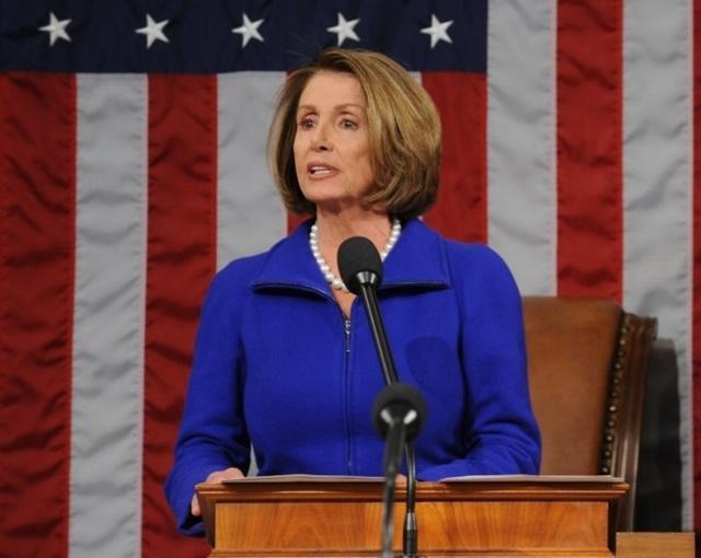 裴洛西 1月4日二度当选联邦众议院议长