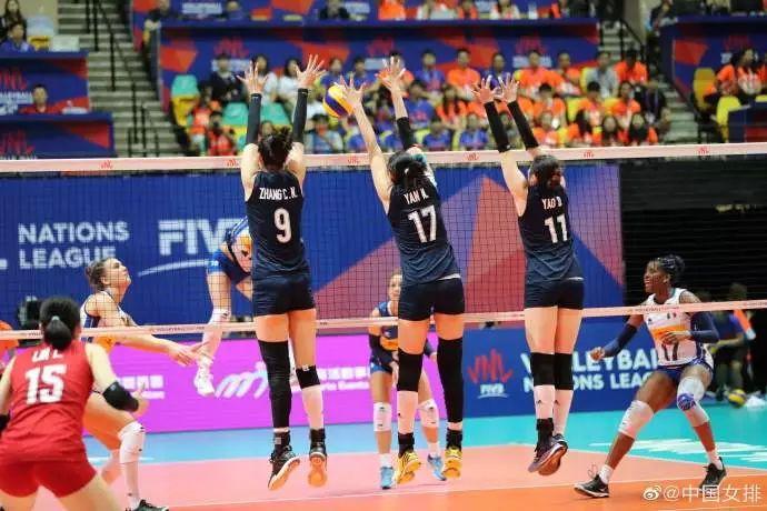 2019年世界女排联赛中国香港站 中国女排逆转意大利队夺冠