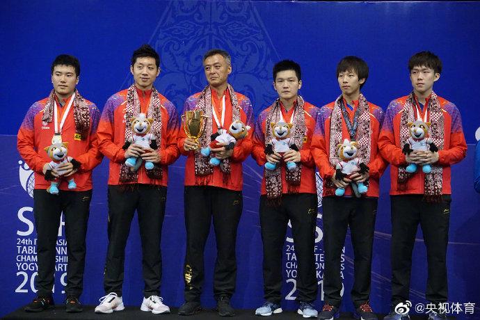 独孤求败!中国队包揽乒乓球亚锦赛七冠