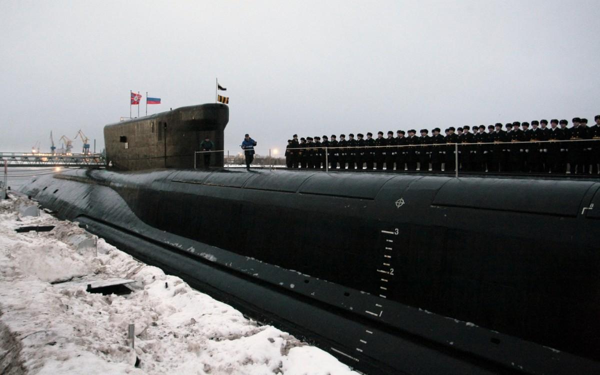"""俄罗斯""""北风之神""""级核潜艇:一艘造了17年,核威慑力恐怖"""