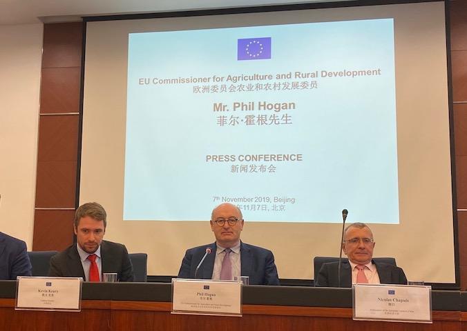 欧盟候任贸易委员霍根:中欧投资协定谈判进展乐观,欢迎中国对欧投资