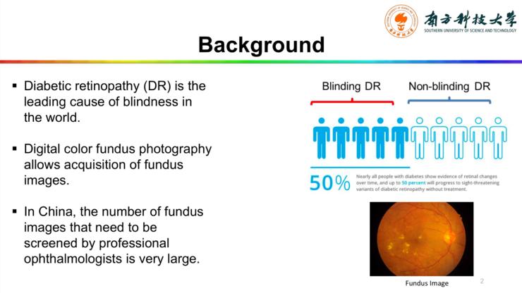 南方科技大学唐晓颖:如何利用粗略标注的图像自动检测眼底病变?