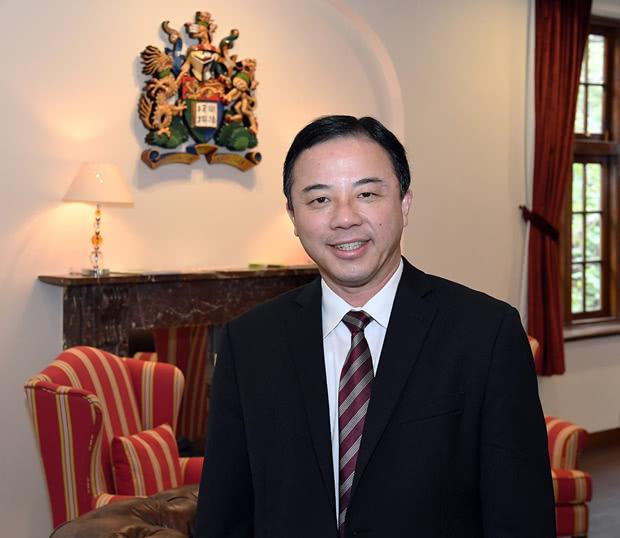 港大校长张翔 图自香港大学官网