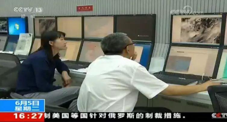 2018年6月5日16:27 央视新闻频道画面