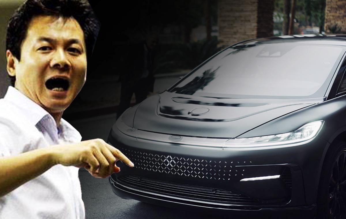贾跃亭联手朱骏成立合资公司拟在中国设厂生产v9