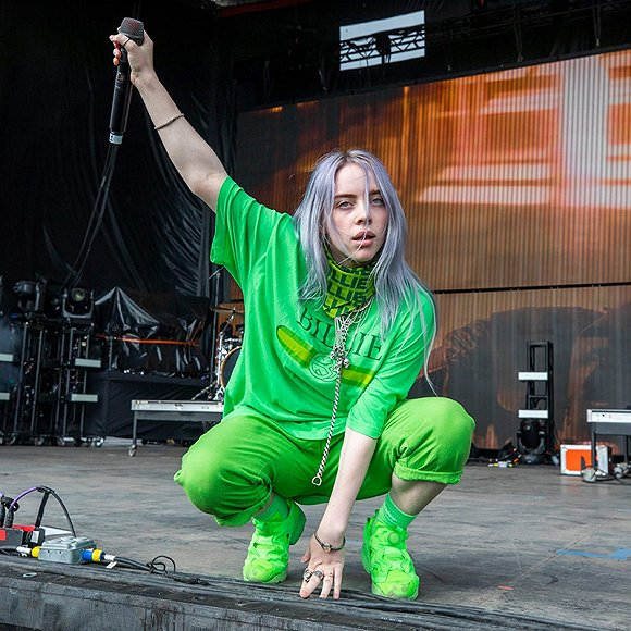 Billie Eilish 图片来源:AliExpress
