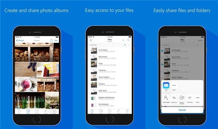 微软OneDrive iOS版更新,支持iPad 多窗口模式