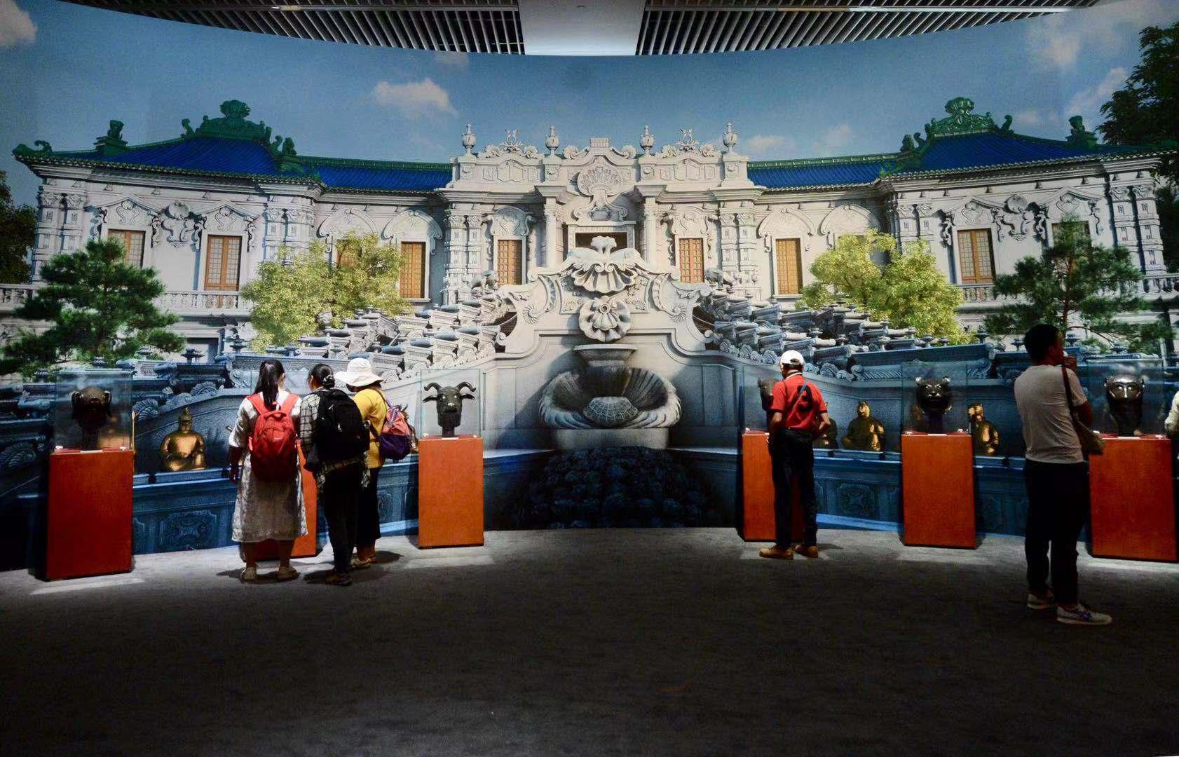 6只圆明园兽首现身此次展览,它们分别是通过竞拍、捐赠和外国友人返还等方式回国的。摄影/新京报记者 浦峰
