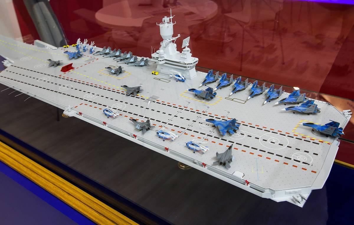 俄媒:俄军正研究新航母方案 造价预估达62亿美元|航母|海军