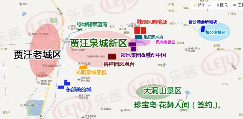贾汪光明泉城熙悦规划公示 将建设28栋楼总建
