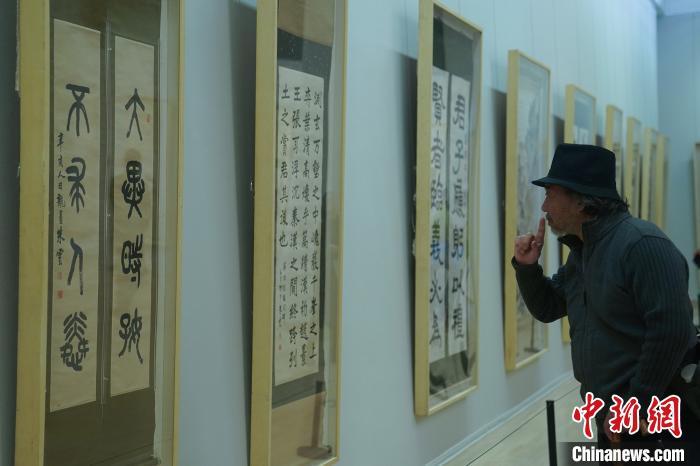 已故台湾地区书画家朱龙庵、高逸鸿精品亮相中