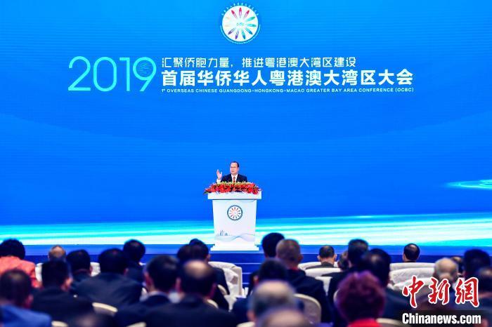 蔡冠深:香港可发挥金融业优势融入粤港澳大湾区建设