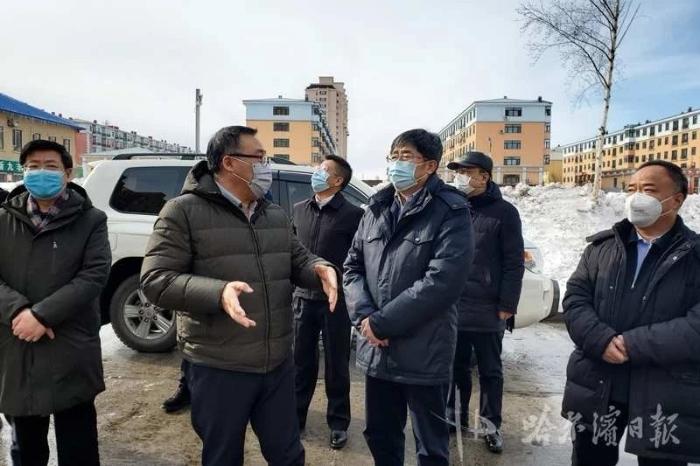 王兆力在尚志市检查疫情防控工作时强调:从严从细从实,采取果断措施,坚决遏制疫情蔓延扩散