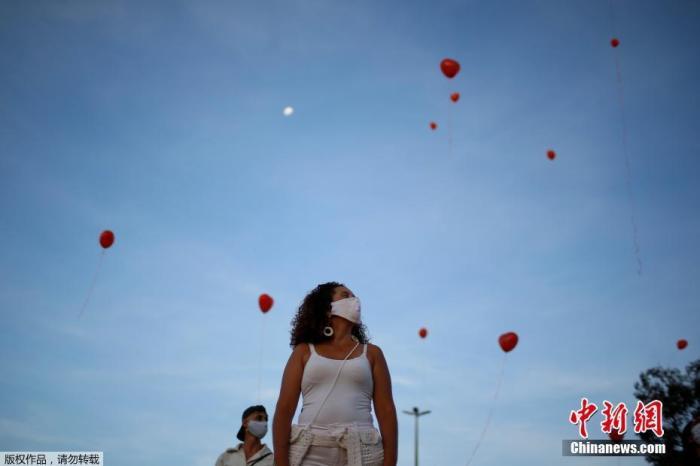 巴西累计新冠肺炎确诊病例超55.5万 死亡病例超3.1万