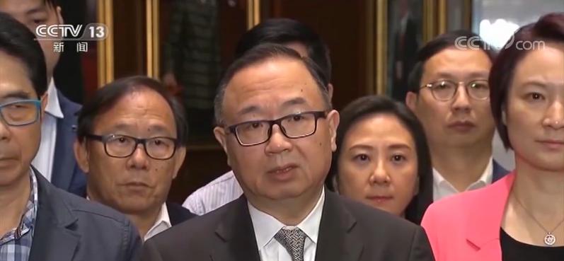 香港各界强烈谴责袭击立法会议员|屯门