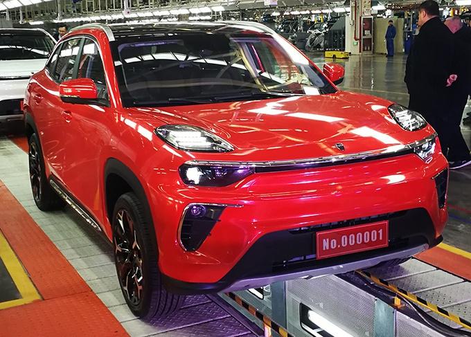 奇瑞新能源旗舰SUV下线 明年3上市续航500km