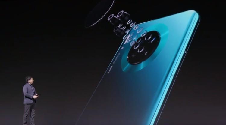 华为Mate30采用超感光四摄阵列,带来专业级拍摄
