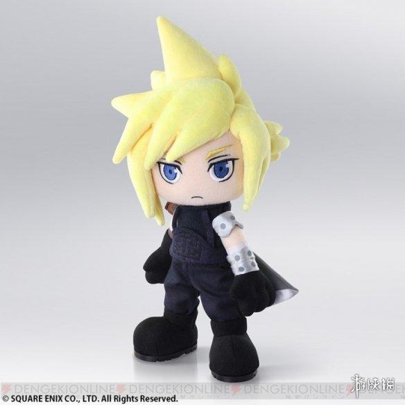 SE将于7月推出《最终幻想7》克劳德可动玩偶 通过可动部分来摆出各种姿势