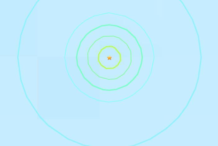 墨西哥南部附近海域发生5.4级地震 震源深度10公里