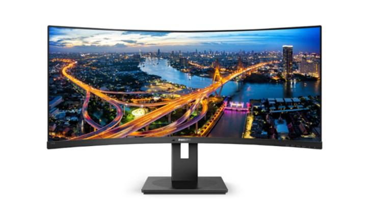 飞利浦推出34英寸曲面显示器:2K@100Hz,售价3499元