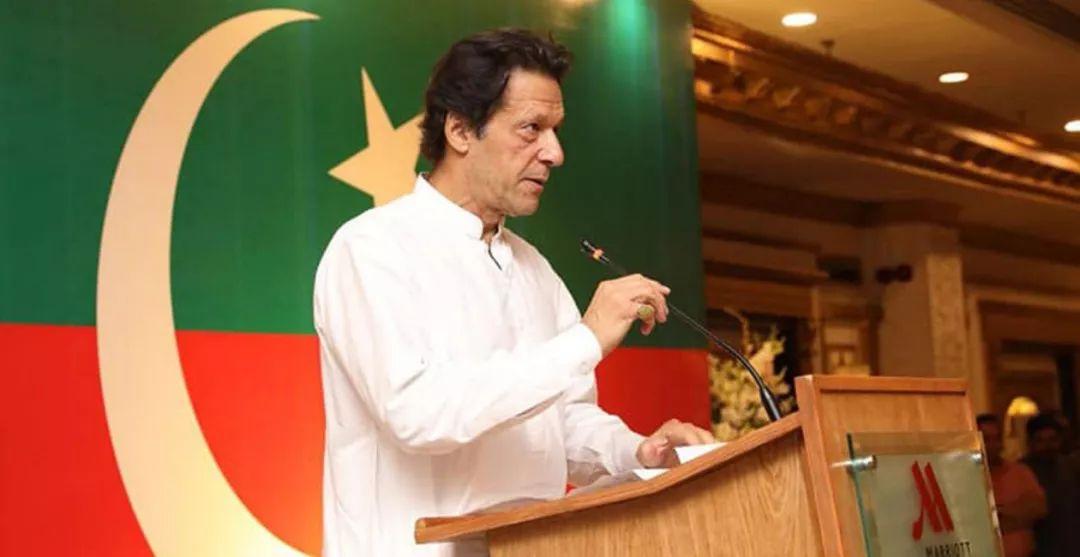 ▲巴基斯坦当选总理伊姆兰·汗
