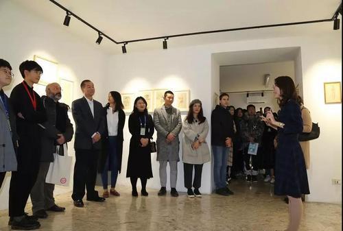 意大利罗马美术学院中国学生作品展开幕