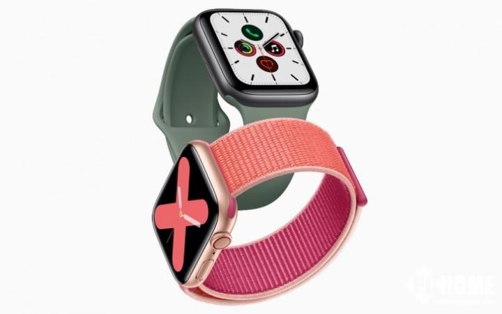 苹果Apple Watch Series 6提高性能与防水性