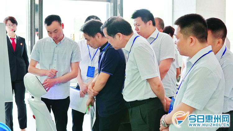 零距离感受惠州市中院日常工作