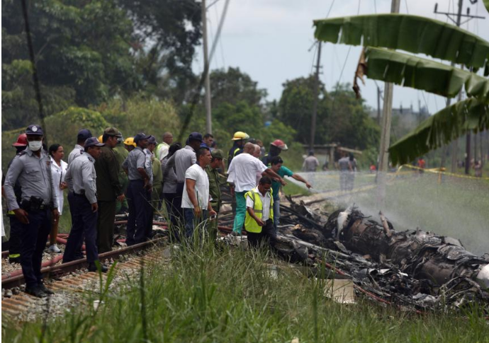 古巴坠机事件百余人遇难 3名幸存者伤情严重