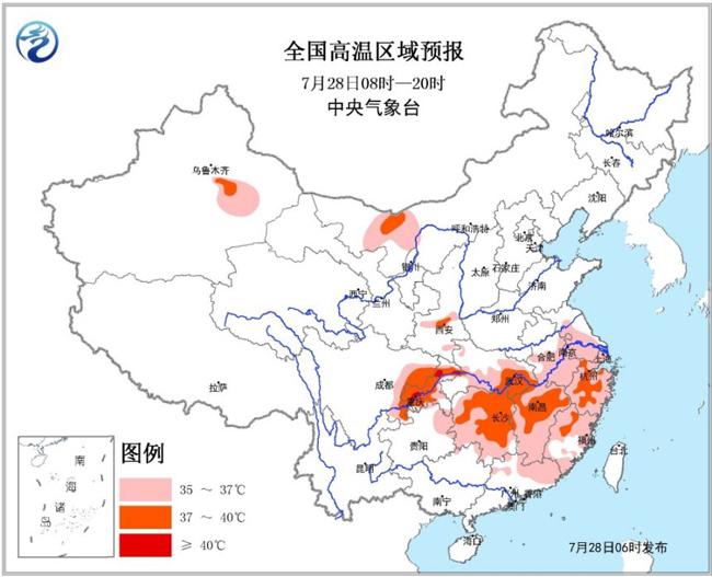 河南四川云南广西海南等地有暴雨 高温预警持续