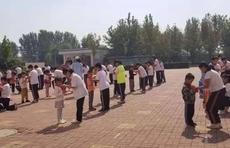 滨城区杨柳雪尹集小学举行新生入队仪式