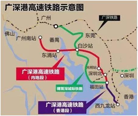 一,9月份到香港 天天有动车   1,广深港高铁全线设6个短途站 38个