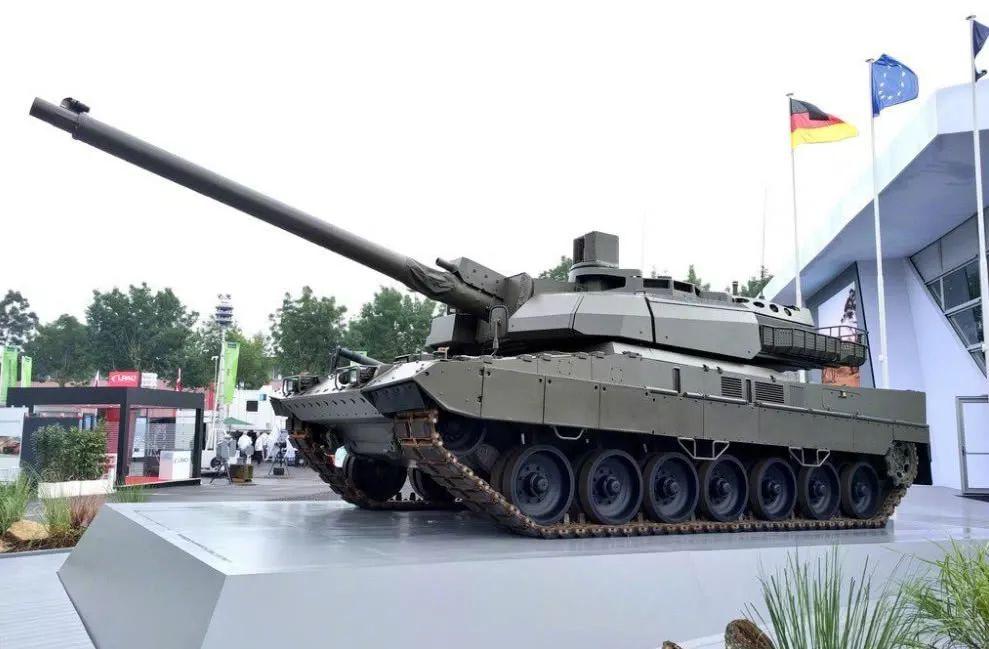 ▲图为德法联合研制的新型欧洲主战坦克