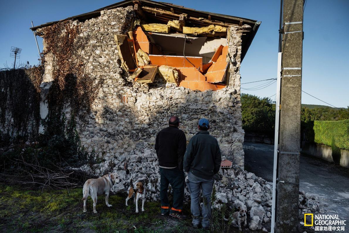 法国发生非常罕见的浅层地震