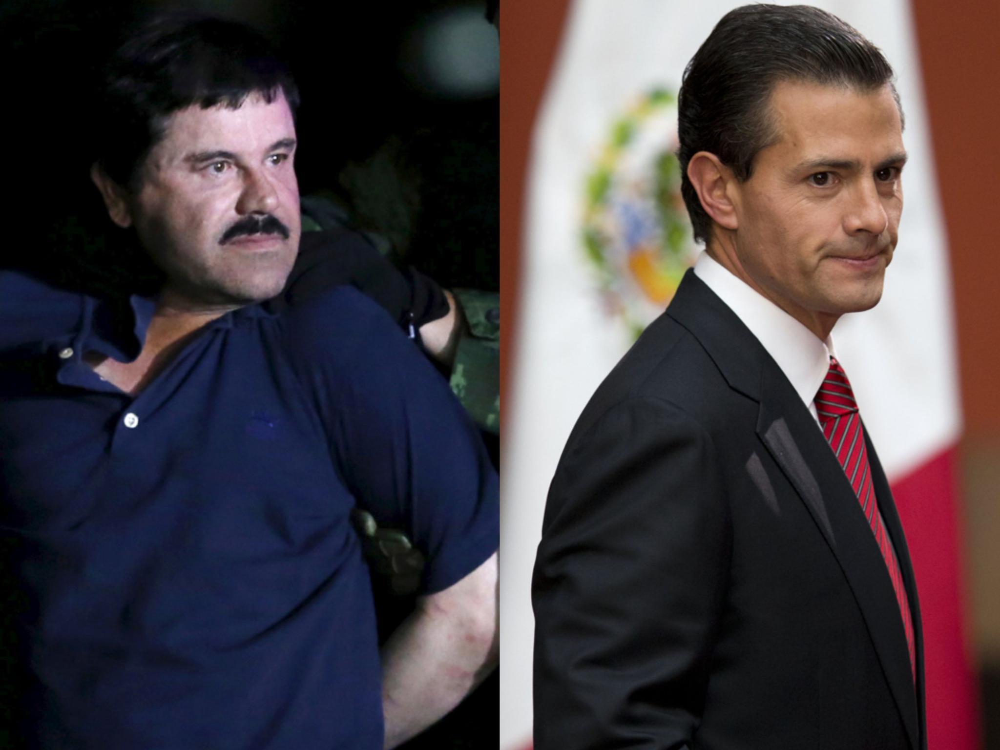 大毒枭古兹曼助手:古兹曼向墨西哥前总统行