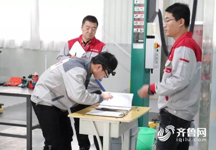 """2019山东省中职""""汽车机电维修""""比赛在德州举行"""