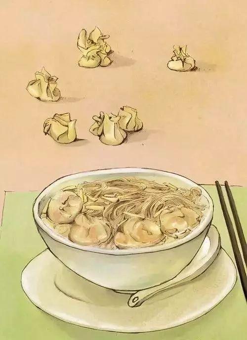 壹勺鲜汤,半寸韭黄,四粒云吞食,九钱面线,壹碗坑道的广式云吞食面!丨寻味坊