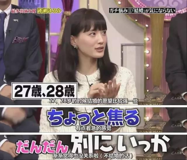 水川麻美说本身在30岁前对结婚异国实感,也是顺着定向思维想要几岁结婚。
