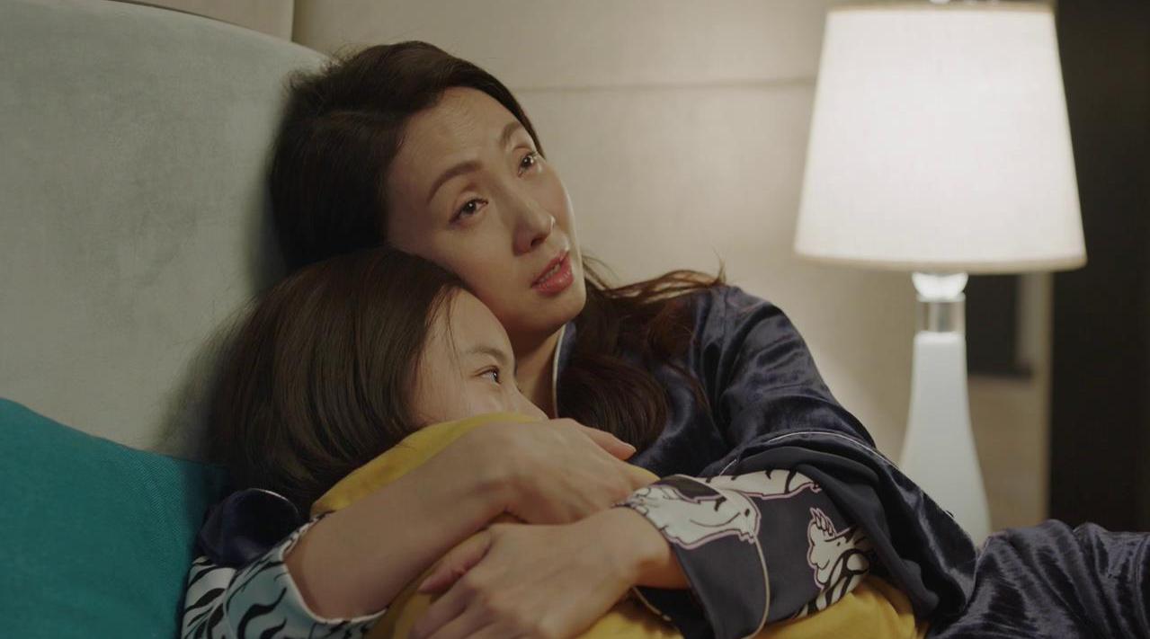 鼓起勇气向妈妈试探性地提出想要去南京大学的乔英子