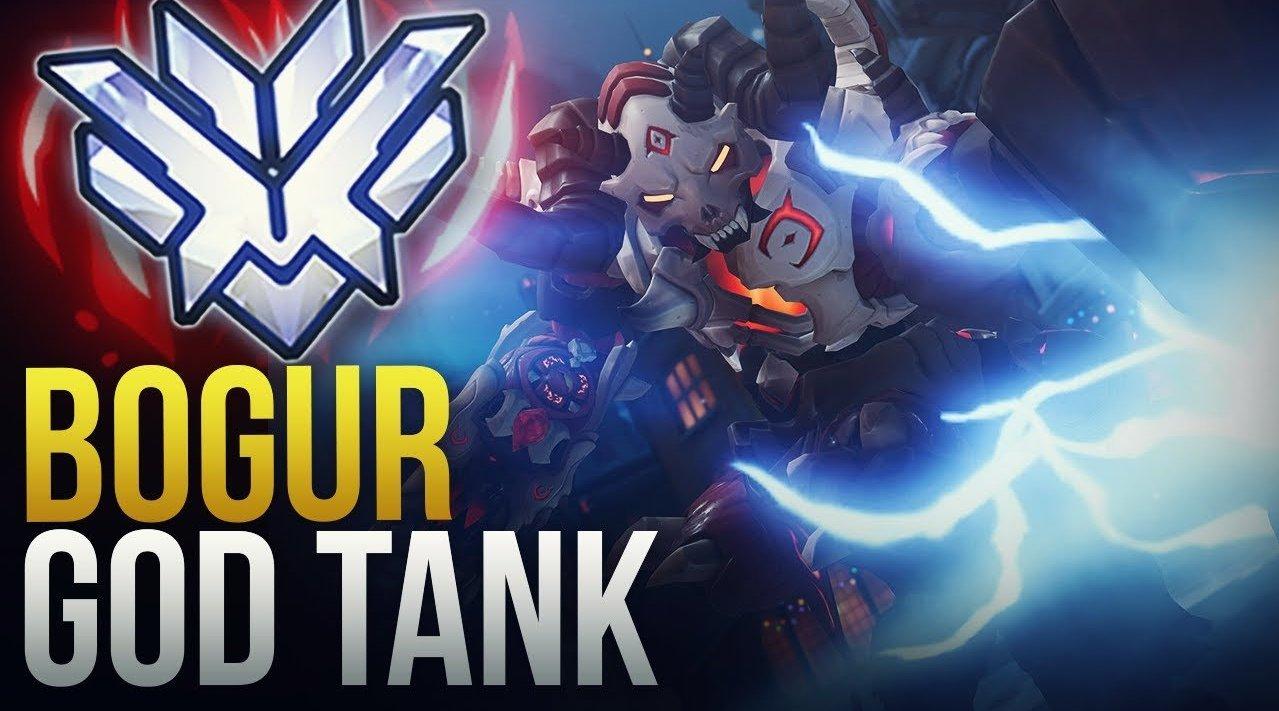 """守望先锋顶级Tank""""Bogur""""精彩集锦"""