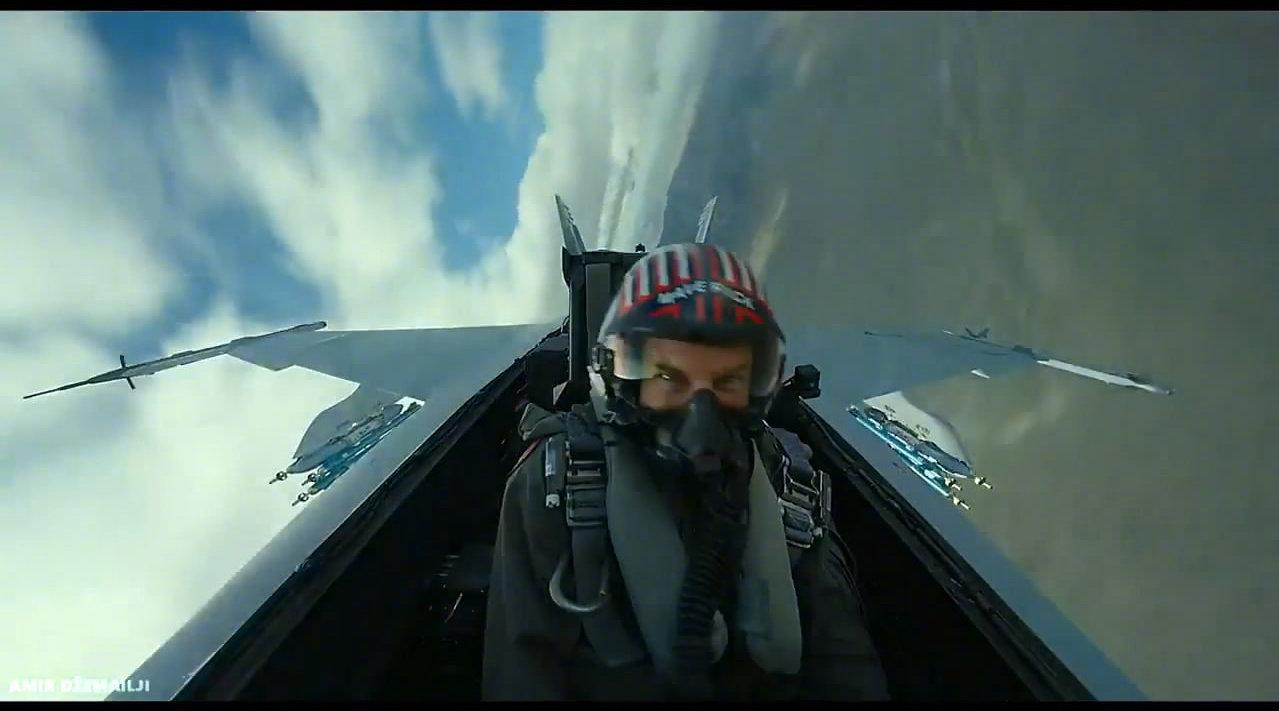 《壮志凌云2:独行侠》新预告 阿汤哥舱内空中实拍画面曝光
