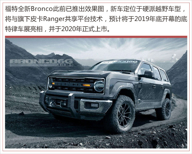 福特将推出全新紧凑级SUV 竞争Jeep指南者