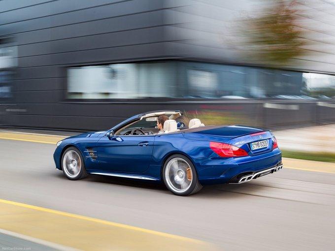 奔驰V12的绝唱 梅赛德斯-AMG SL65或6月停产
